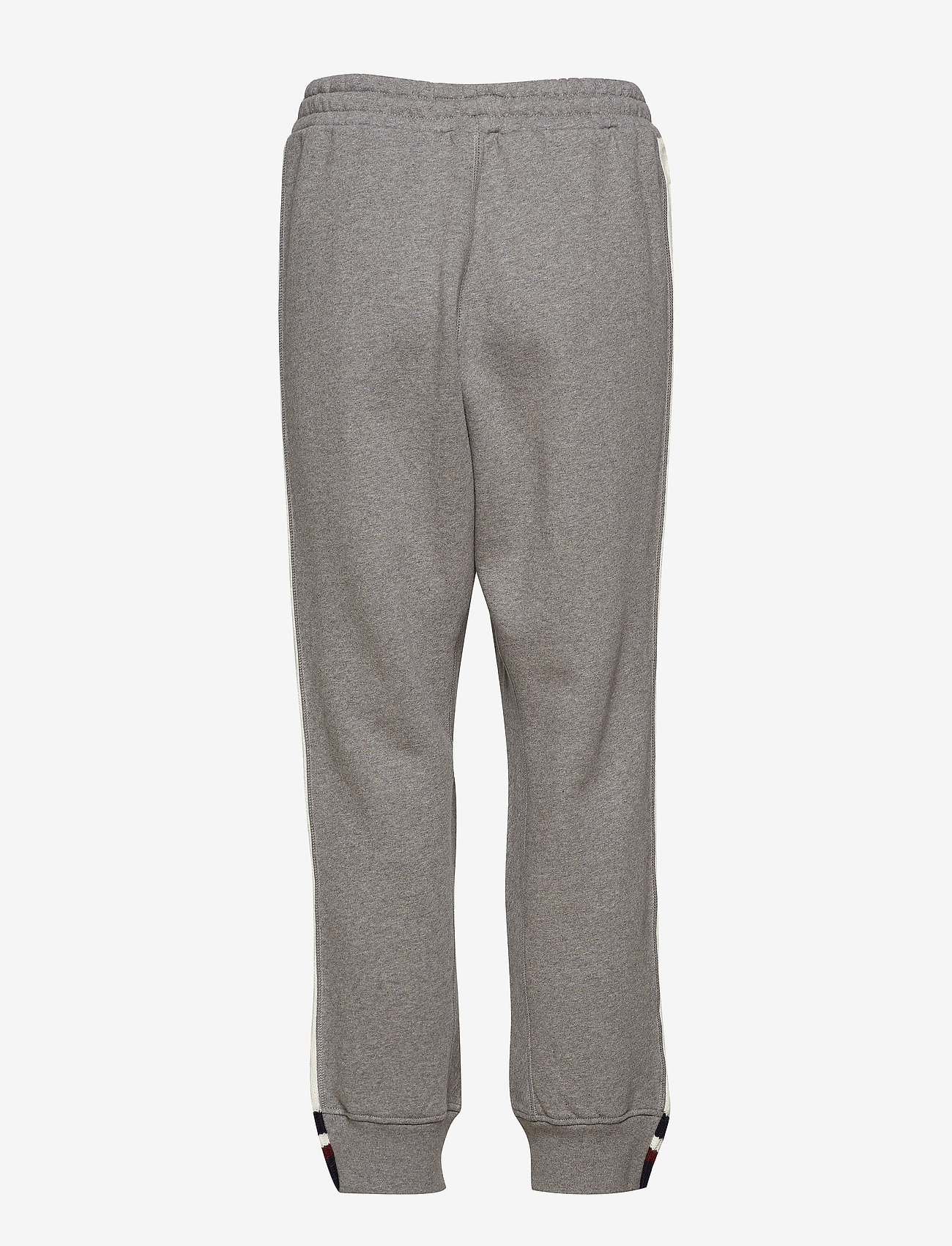 Hilfiger Collection - CABLE KNIT STRIPE TRACK PANT - sweatpants - grey marl / multi - 1
