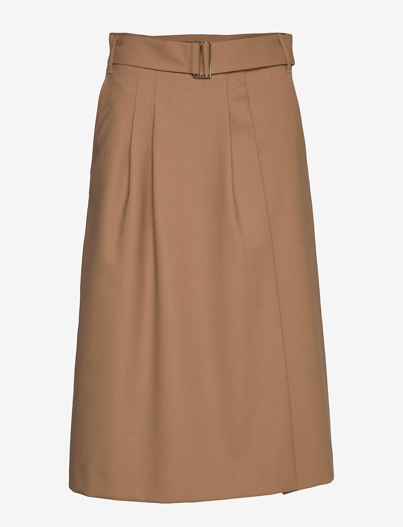 Hilfiger Collection - HCW CHINO SKIRT - midi skirts - cornstalk - 0