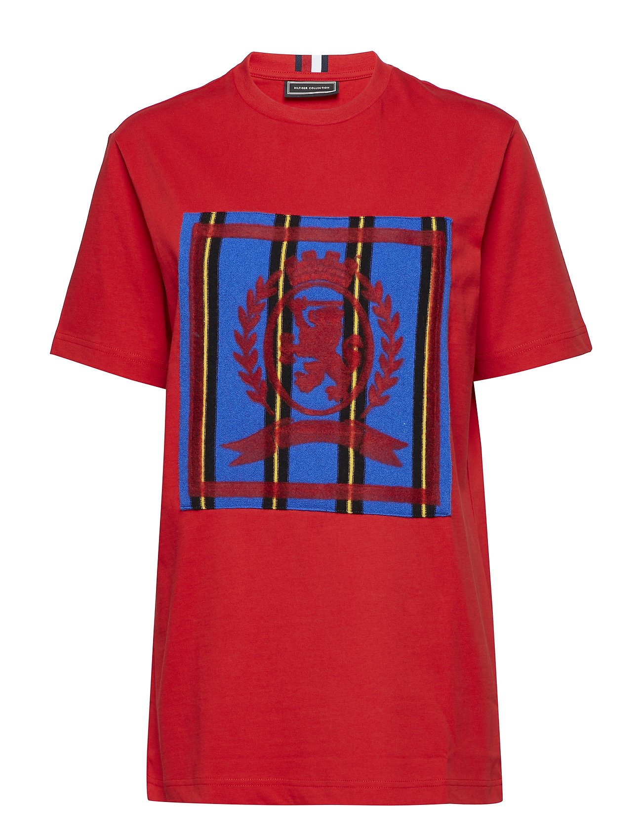 Hilfiger Collection HC CREST TEE - BARBADOS CHERRY