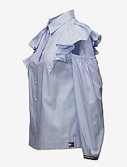Hilfiger Collection - FEMININE SHIRT LS - long sleeved blouses - heather - 2