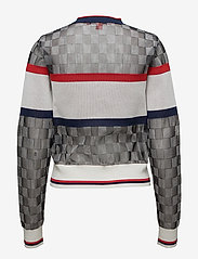 Hilfiger Collection - TOMMY SWEATER - pulls - meteorite multi - 1