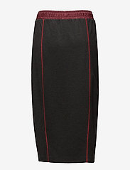 Hilfiger Collection - JERSEY MIDI SKIRT - midi skirts - dark grey heather - 1