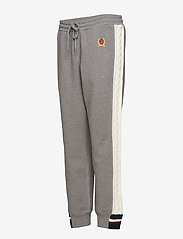 Hilfiger Collection - CABLE KNIT STRIPE TRACK PANT - sweatpants - grey marl / multi - 2