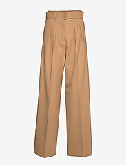 Hilfiger Collection - HCW WIDE LEG CHINO, - wide leg trousers - cornstalk - 0