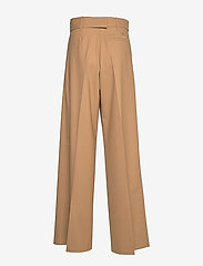 Hilfiger Collection - HCW WIDE LEG CHINO, - wide leg trousers - cornstalk - 1
