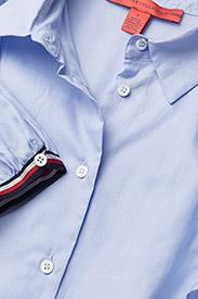 Hilfiger Collection - FEMININE SHIRT LS - long sleeved blouses - heather - 3