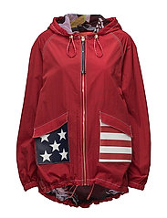 PARACHUTE JKT - TRUE RED