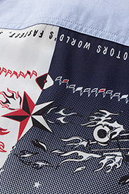 Hilfiger Collection - BANDANA SHIRT LS - chemises à manches longues - oxford / multi - 3