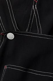 Hilfiger Collection - SHEER WORKWEAR DUNGA - jumpsuits - meteorite - 2