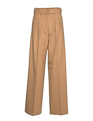 HCW WIDE LEG CHINO, - CORNSTALK