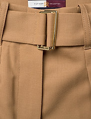 Hilfiger Collection - HCW WIDE LEG CHINO, - wide leg trousers - cornstalk - 3
