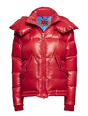 HIGH SHINE DOWN JACKET - TOMMY RED