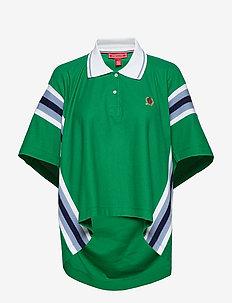 OVERPRINTED OVERSIZE - poloskjorter - verdant green
