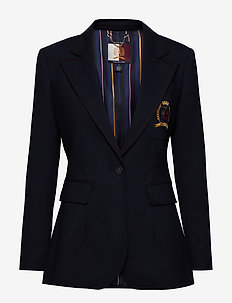 HCW TAILORED SCHOOL, - blazers - deep well