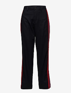 HCM BIG BAND DRESSY PANTS (S) - casual trousers - deep well