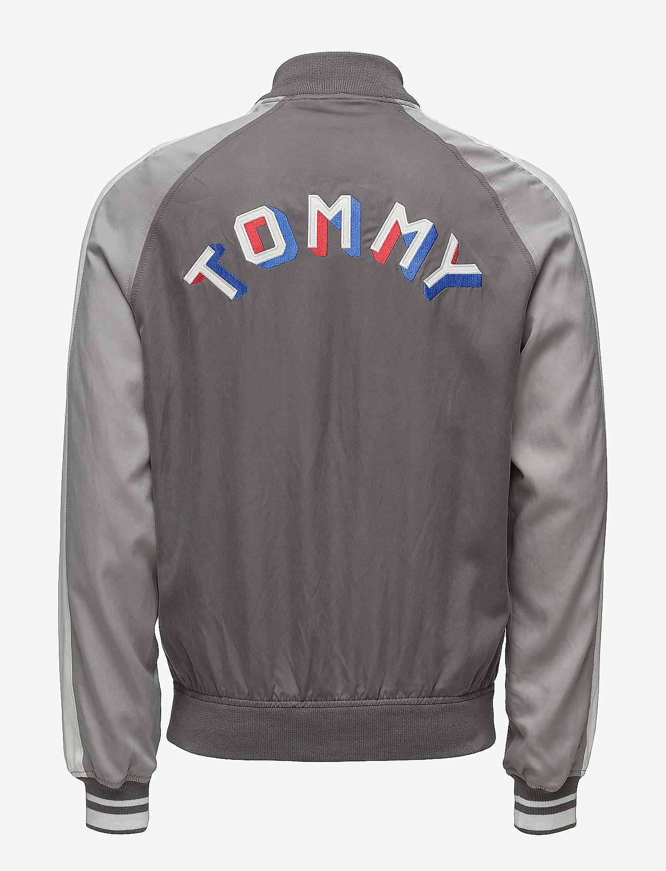 Tommy Jeans - THDM VARSITY BOMBER 43 - bomber jackets - smoked pearl / multi - 1