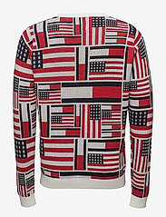 Tommy Jeans - THDM ICONIC CN SWEATER L/S 14 - pulls col rond - marshmallow / multi - 2