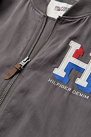 Tommy Jeans - THDM VARSITY BOMBER 43 - bomber jackets - smoked pearl / multi - 2