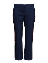 THDW TAILORED CROP PANT 22 B - BLUE