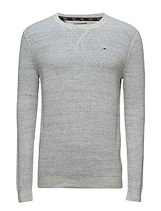 THDM CN SWEATER L/S 11 - LT GREY CREEK HTR