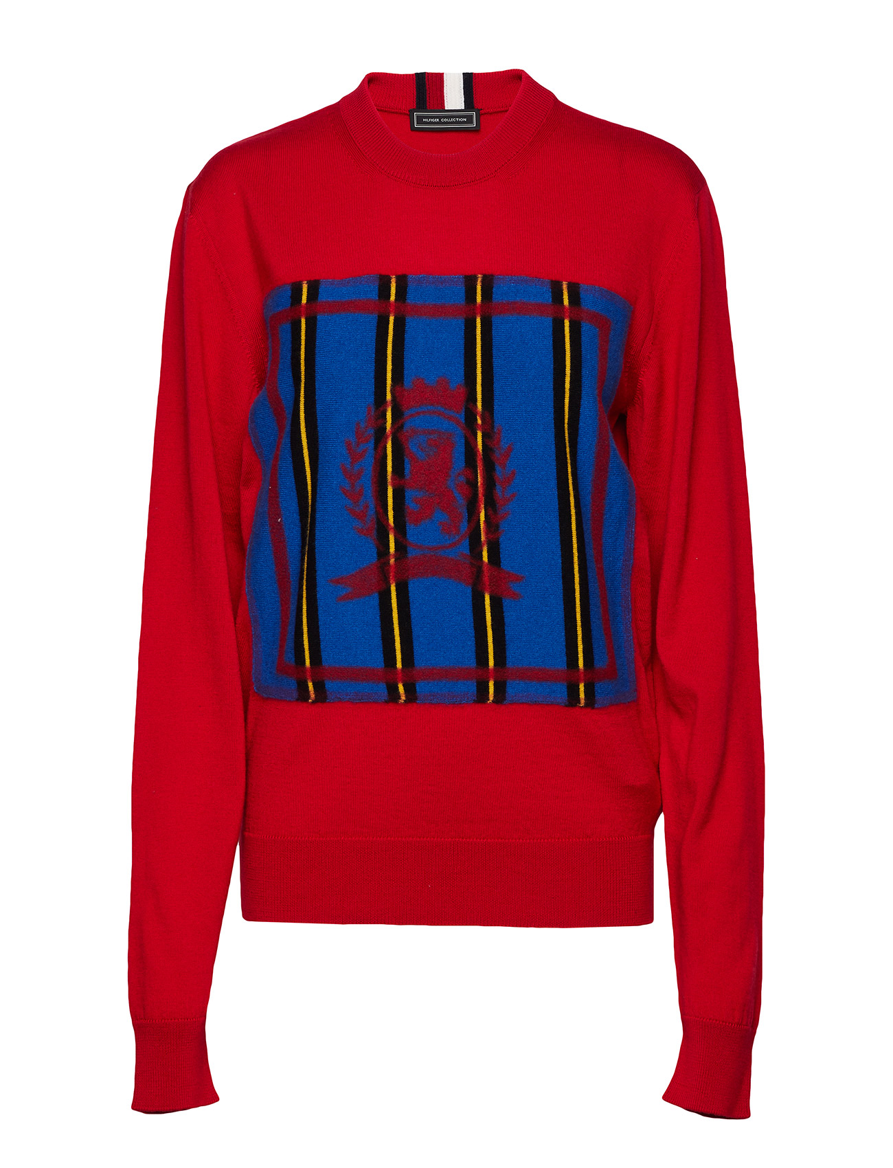 Hc Crest Needle Punch Sweater