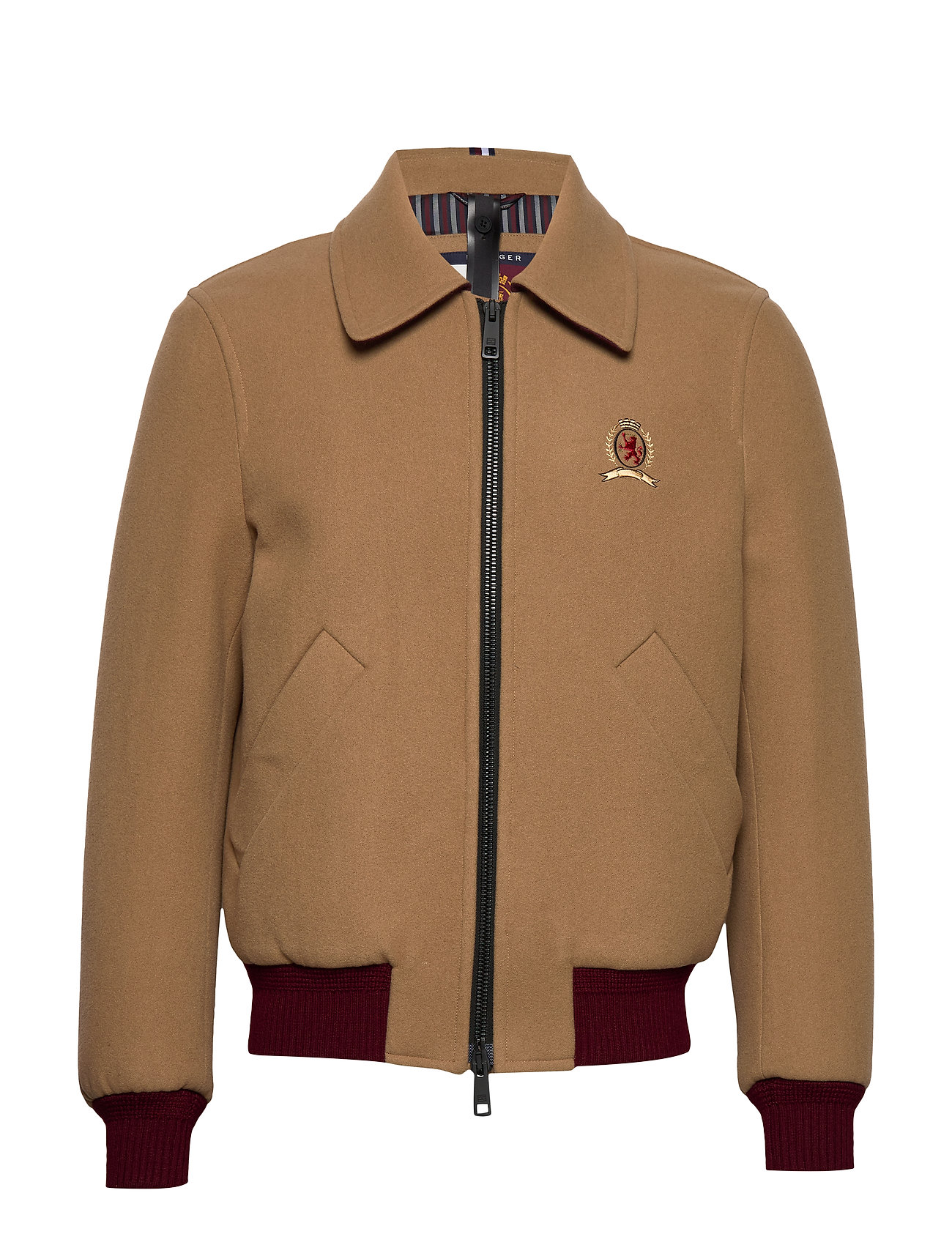Hilfiger Collection HCM TAILORED BOMBER, - DIJON
