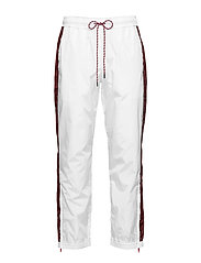 TRACKSUIT PANTS - BRIGHT WHITE