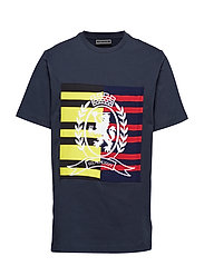 STRIPE AND CREST PAN - SKY CAPTAIN