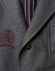 Hilfiger Collection - HCM SUIT SEP BLAZER EMBROIDERY - costumes simple boutonnage - charcoal heather - 2