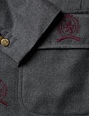 Hilfiger Collection - HCM SUIT SEP BLAZER EMBROIDERY - costumes simple boutonnage - charcoal heather - 3