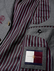 Hilfiger Collection - HCM SUIT SEP BLAZER EMBROIDERY - costumes simple boutonnage - charcoal heather - 4