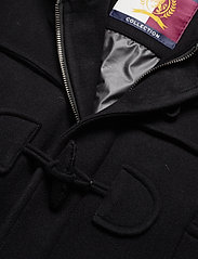 Hilfiger Collection - HCM DOWN SLEEVE DUFFLE COAT - padded jackets - jet black - 5