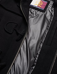 Hilfiger Collection - HCM DOWN SLEEVE DUFFLE COAT - padded jackets - jet black - 7