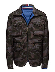 HE DOWN FIELD JACKET - BLUE