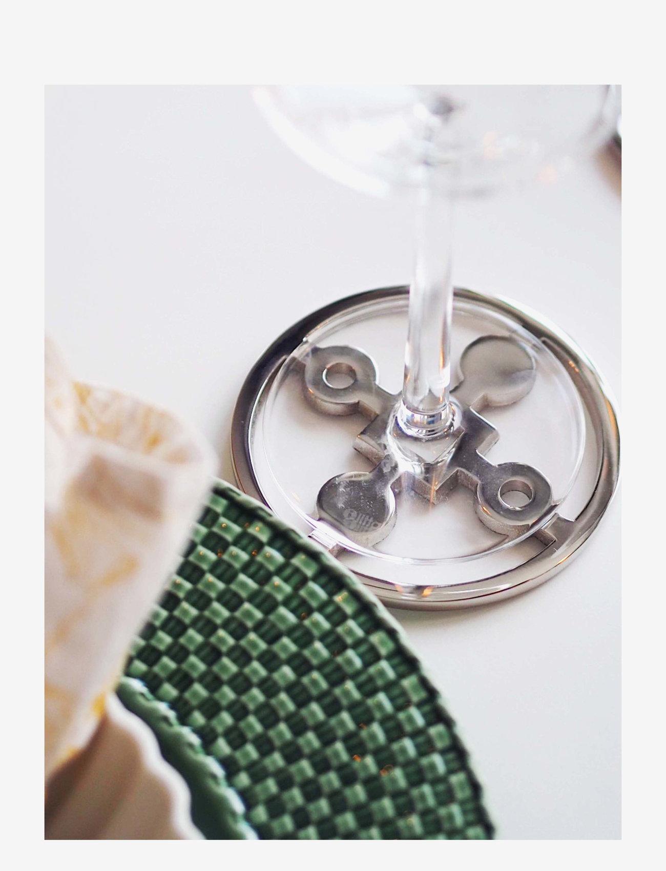 Hilke Collection - Coaster Amina Gemella - bordbrikker, glassunderlag & bordskånere - np brass - 1