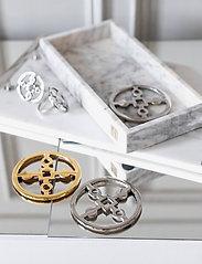 Hilke Collection - Coaster Amina Gemella - bordbrikker, glassunderlag & bordskånere - np brass - 3