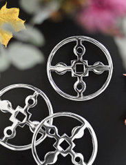 Hilke Collection - Coaster Amina Gemella - bordbrikker, glassunderlag & bordskånere - np brass - 4