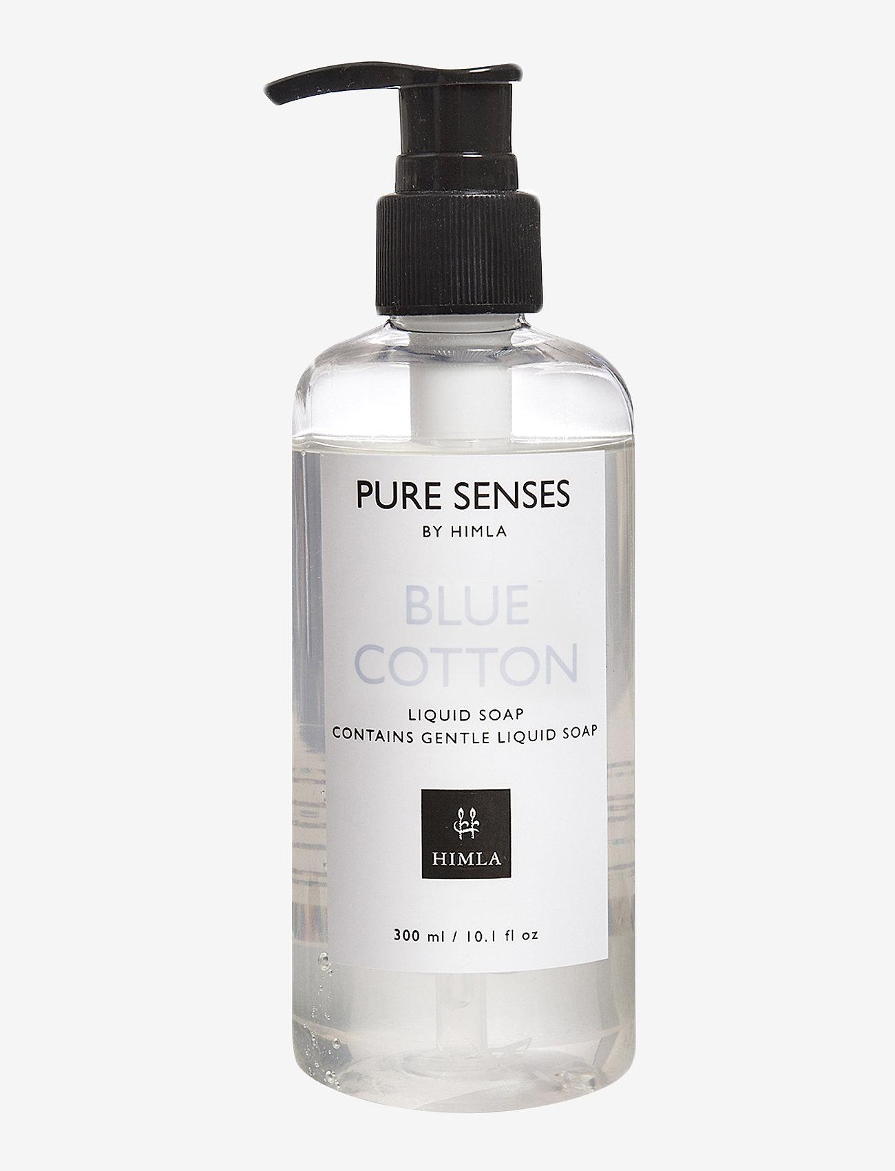 Himla - Pure Senses Liquid Soap - handtvål - blue cotton - 1