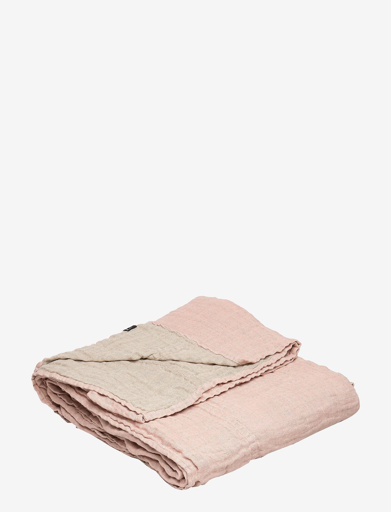 Himla - Hannelin Bedspread - sengetøj - nude - 0