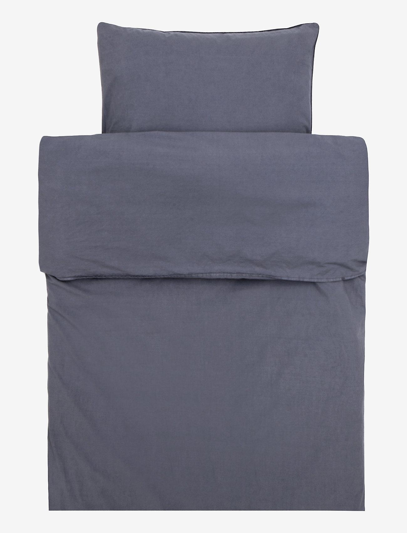 Himla - Hope Plain Duvet Cover - sengesæt - silence - 0