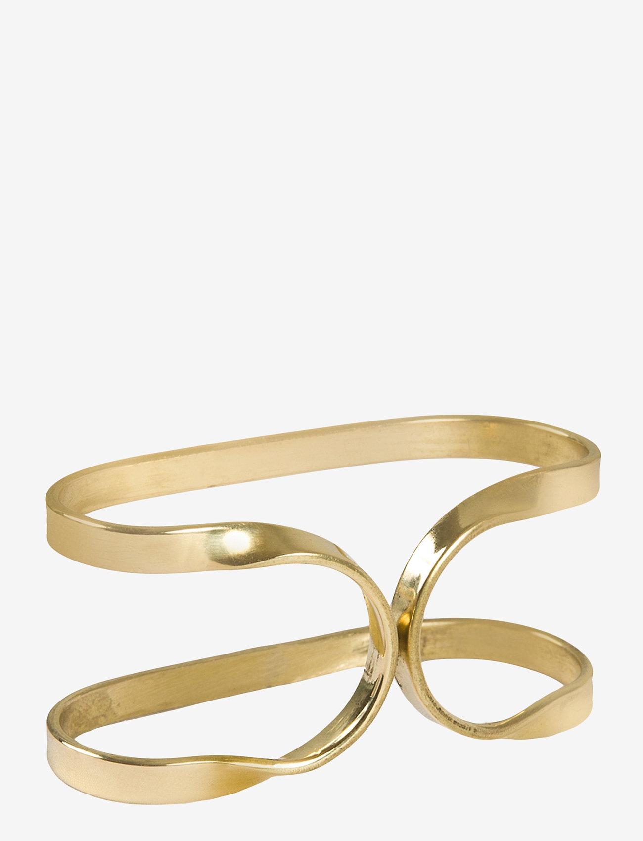 Himla - Oslo Napkin Ring - serviettringer & serviettholdere - brass - 0