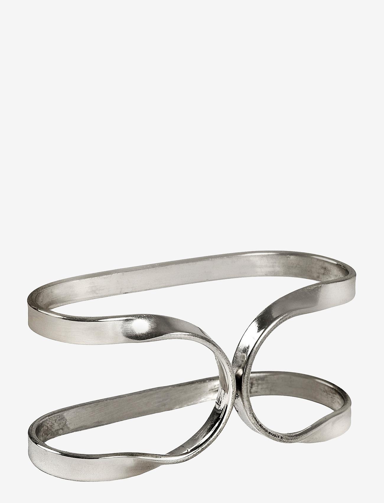 Himla - Oslo Napkin Ring - serviettringer & serviettholdere - silver - 0