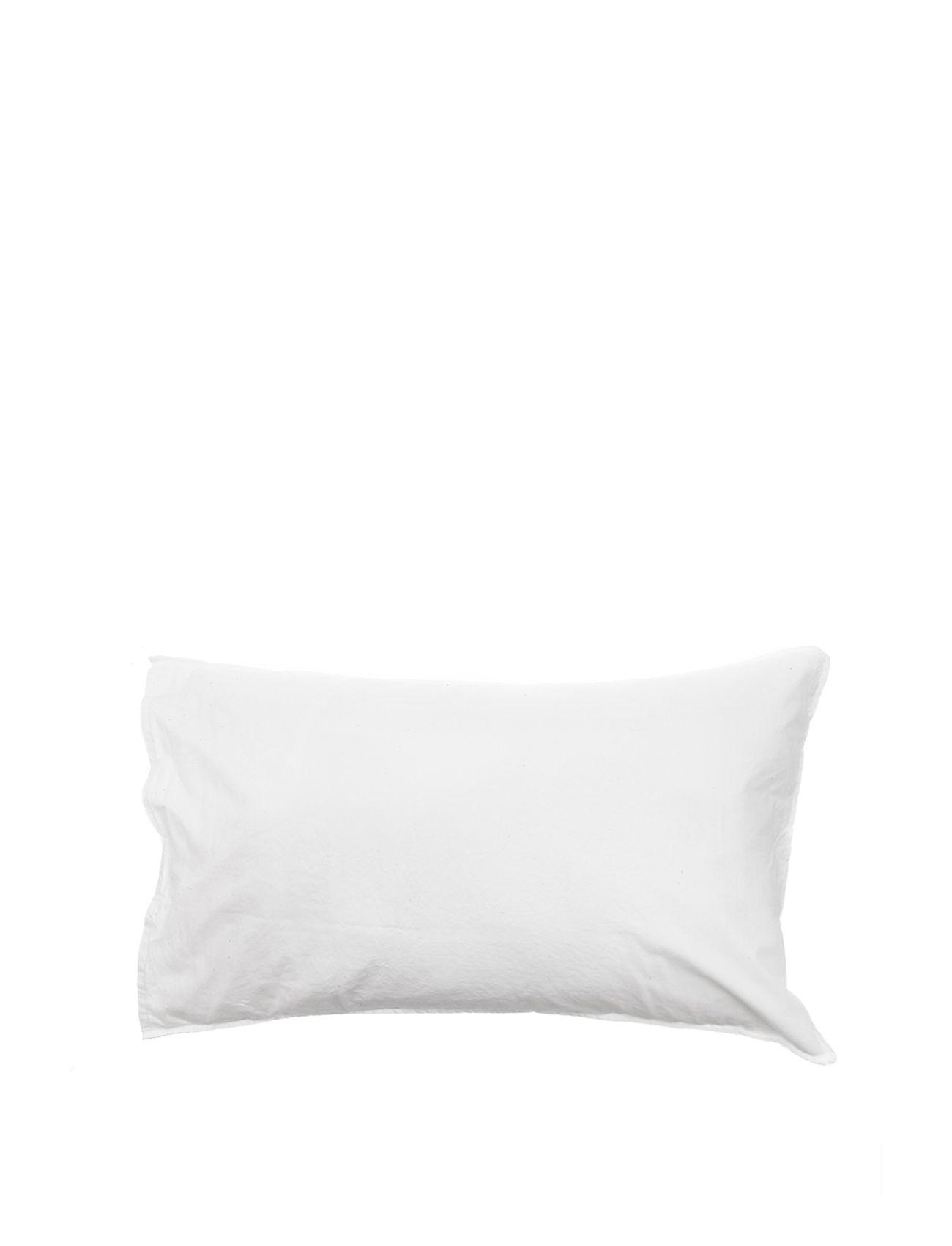 Himla Hope Plain Pillowcase - WHITE