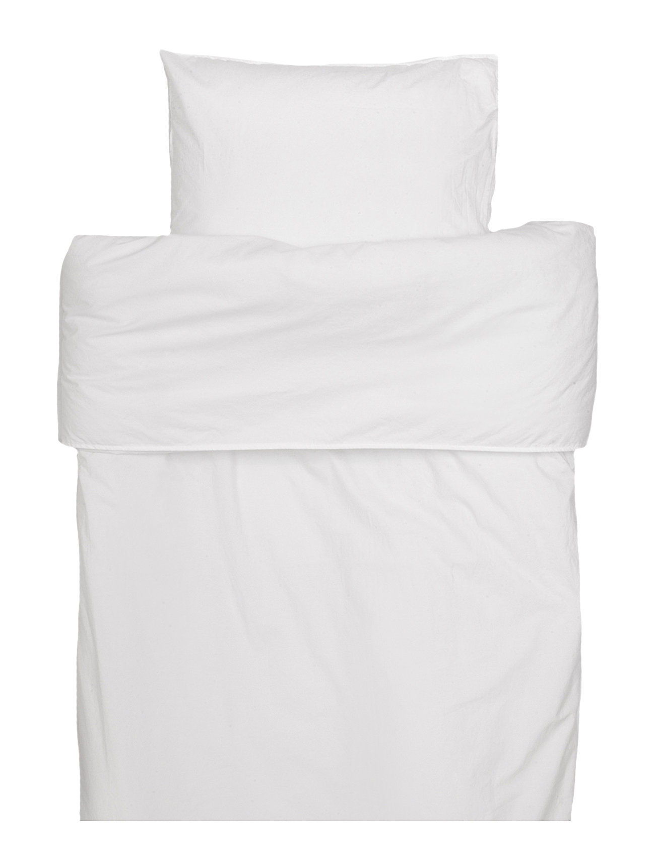Himla Hope Plain Duvet Cover - WHITE