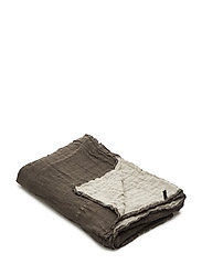 Hannelin Bedspread - WOODS/NATURAL