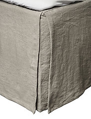 Mira Loose-Fit Bed Skirt - STONE