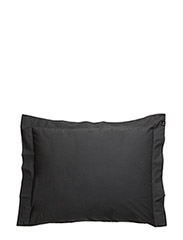 Drottningholm Pillowcase with wing - ANTRACITE
