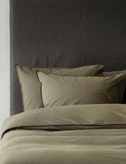 Himla - Hope Plain Pillowcase - pudebetræk - khaki - 2