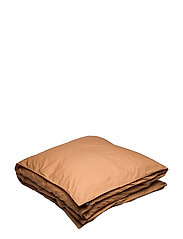Hope Plain Duvet Cover - AMBER