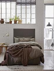 Himla - Hope Plain Duvet Cover - sengesæt - brownie - 3